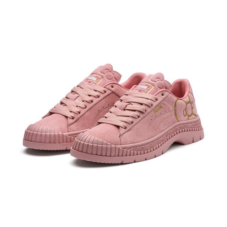 PUMA x HELLO KITTY Utility 女款联名休闲鞋