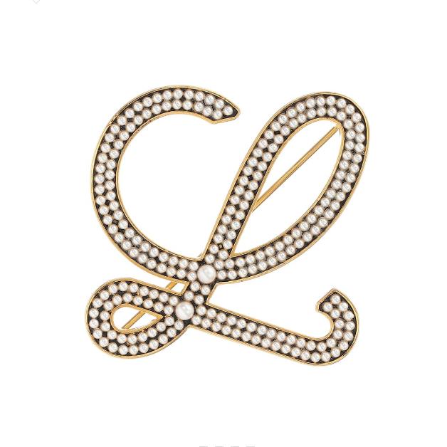 Loewe Faux pearl 人造珍珠胸针 €377