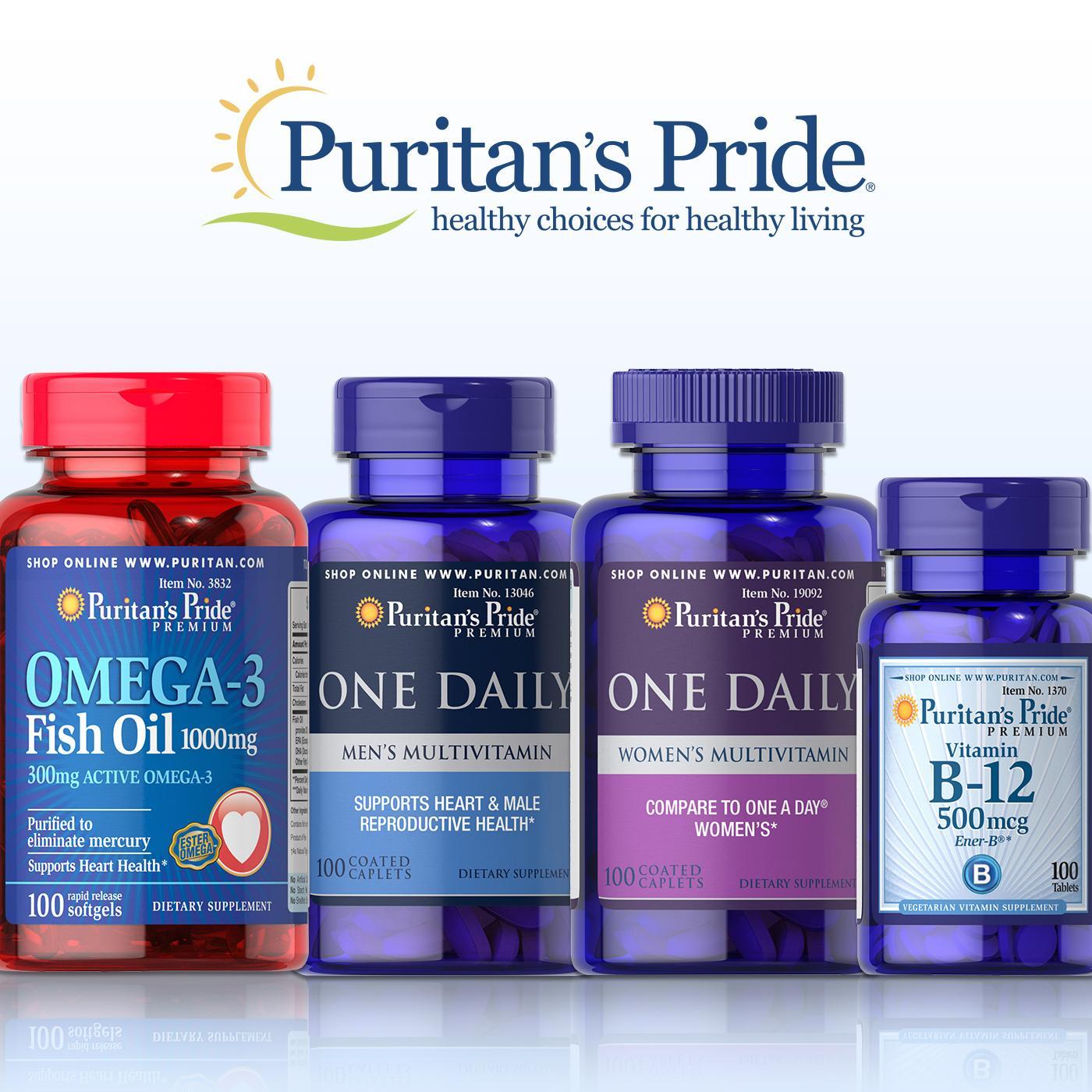 Puritan's Pride 普丽普莱:自营保健品 全系列