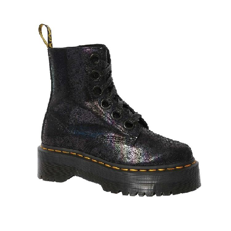 Dr. Martens Molly 6孔厚底马丁靴