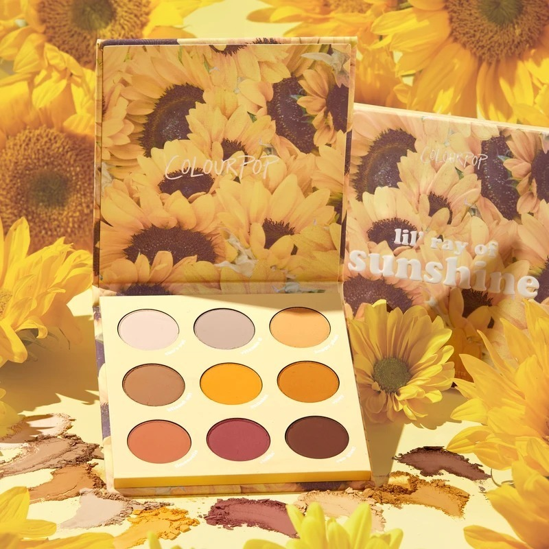 Colourpop 向日葵盘 lil ray of sunshine