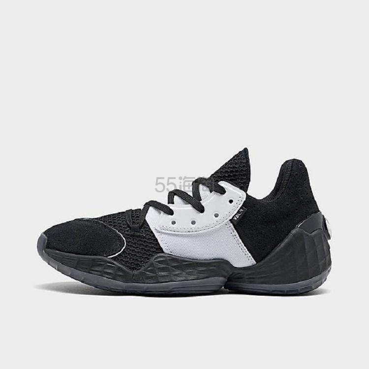 【2.7折】ADIDAS 阿迪达斯 HARDEN VOL. 4 哈登四代大童款篮球鞋