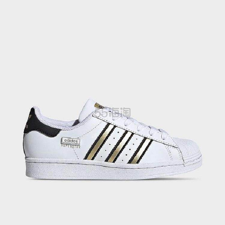 【4.7折】Adidas 阿迪达斯 Originals Superstar 大童款贝壳头休闲板鞋