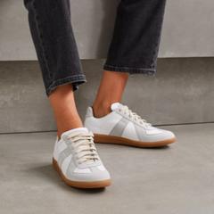 库存告急!Maison Margiela Replica 皮革绒面革运动鞋