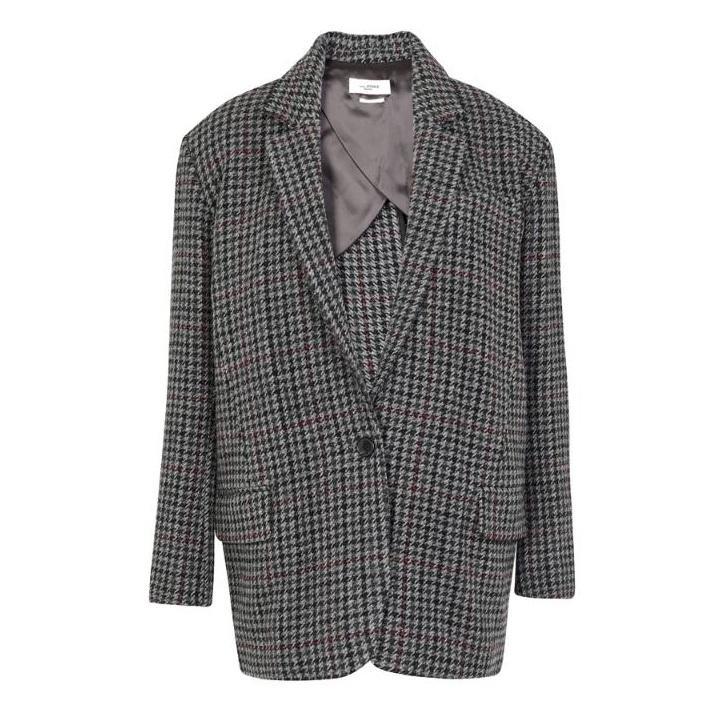 ETOILE ISABEL MARANT Kaito 格纹西装外套