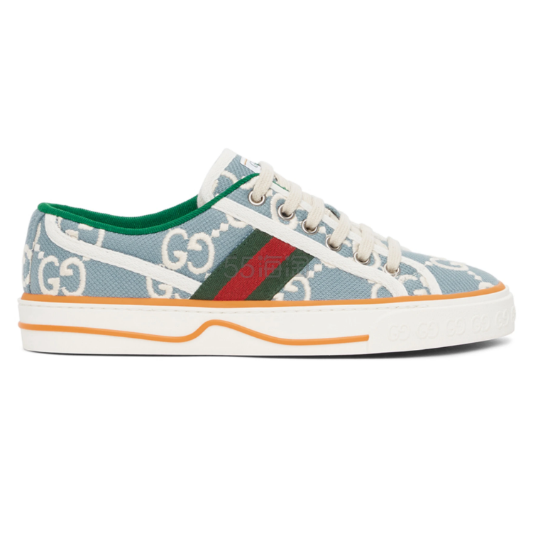 【新人高返】Gucci 蓝色 GG Supreme Tennis 1977 运动鞋
