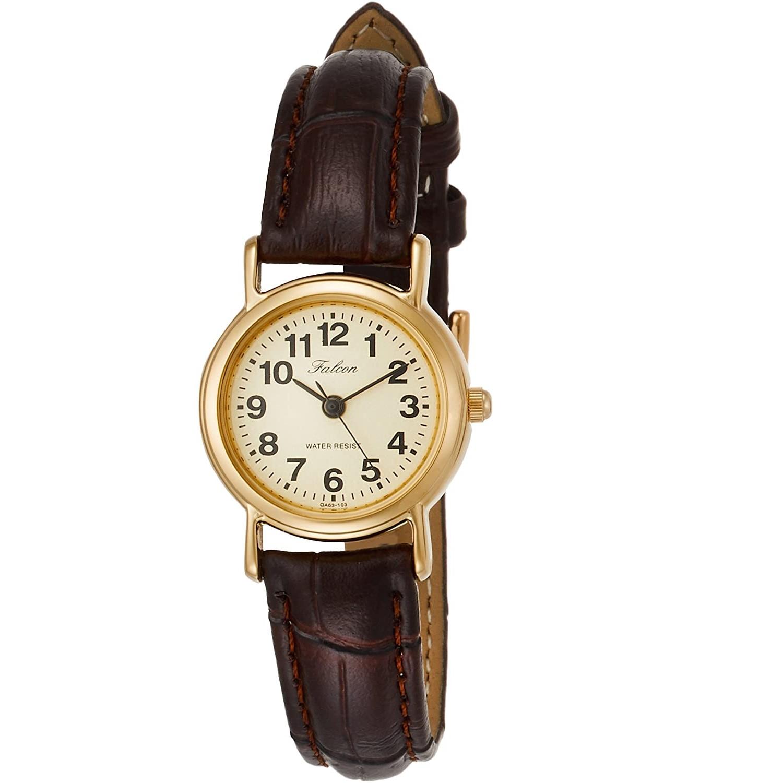 CITIZEN 西铁城 Q&Q Falcon QA63-103 女式复古腕表