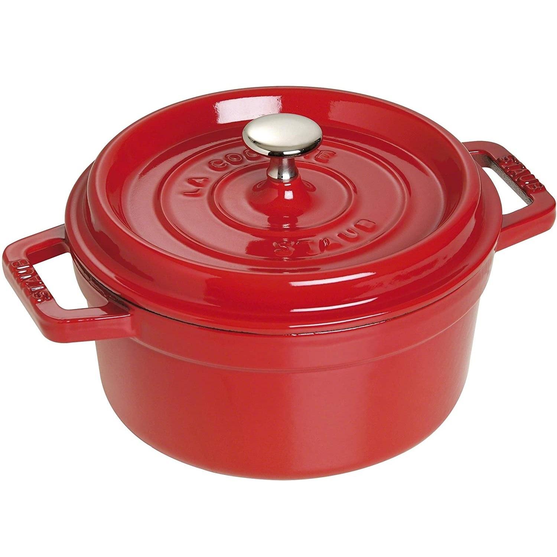 好价!Staub 珐宝 家用厨房铸铁炖锅 22cm