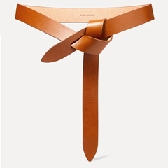 畅销热卖+明星同款!【高返最后一天】ISABEL MARANT Lecce 皮革腰带