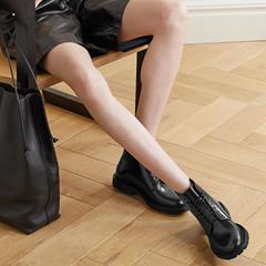 明星同款!【热销好价】SAINT LAURENT Army 皮革踝靴