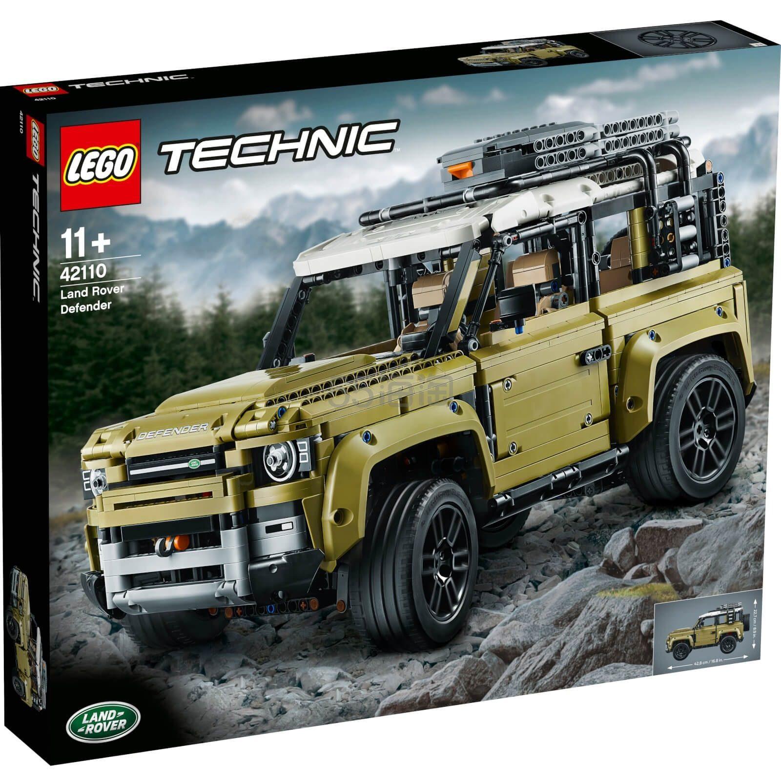 【近期好价】LEGO 乐高 科技系列 路虎卫士越野车(42110)