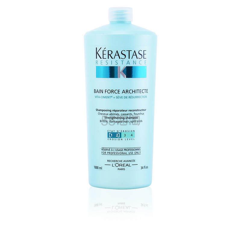 【8.2折】KERASTASE 卡诗 强韧修护洗发水 1000ml 受损发质