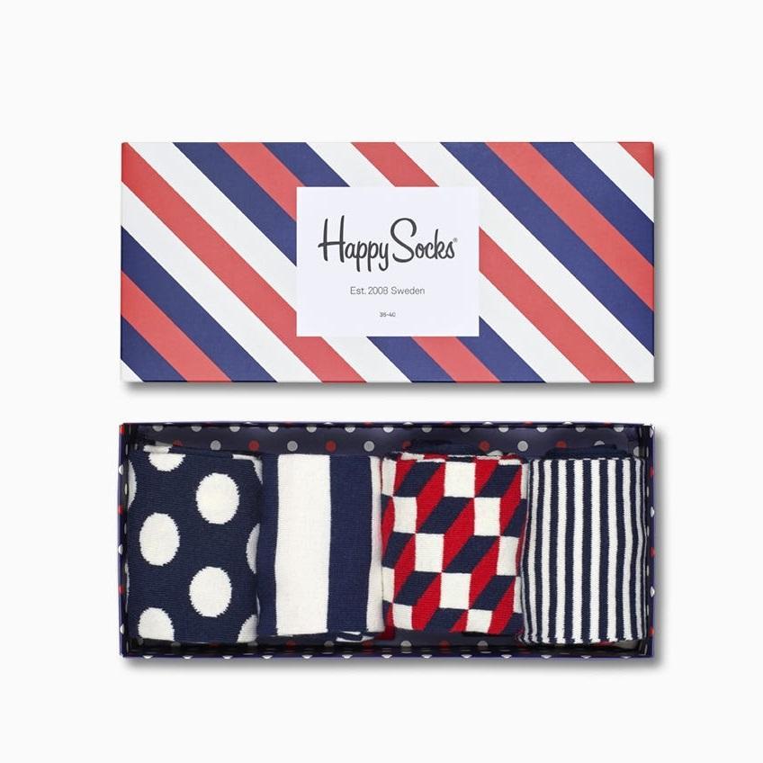 Happy Socks 美国官网:精选条纹袜子礼盒