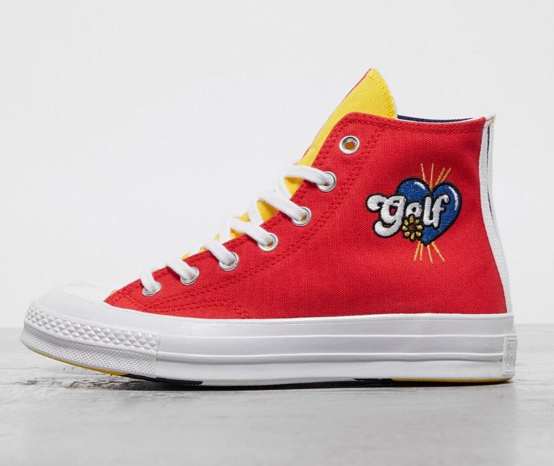 Converse x GOLF le FLEUR* Chuck 70 Tri-Panel 匡威联名款帆布鞋