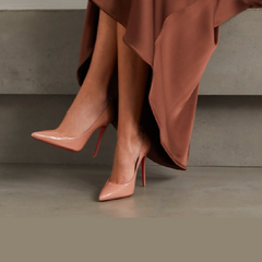 热卖!【库存告急】CHRISTIAN LOUBOUTIN Pigalle 100 漆皮高跟鞋