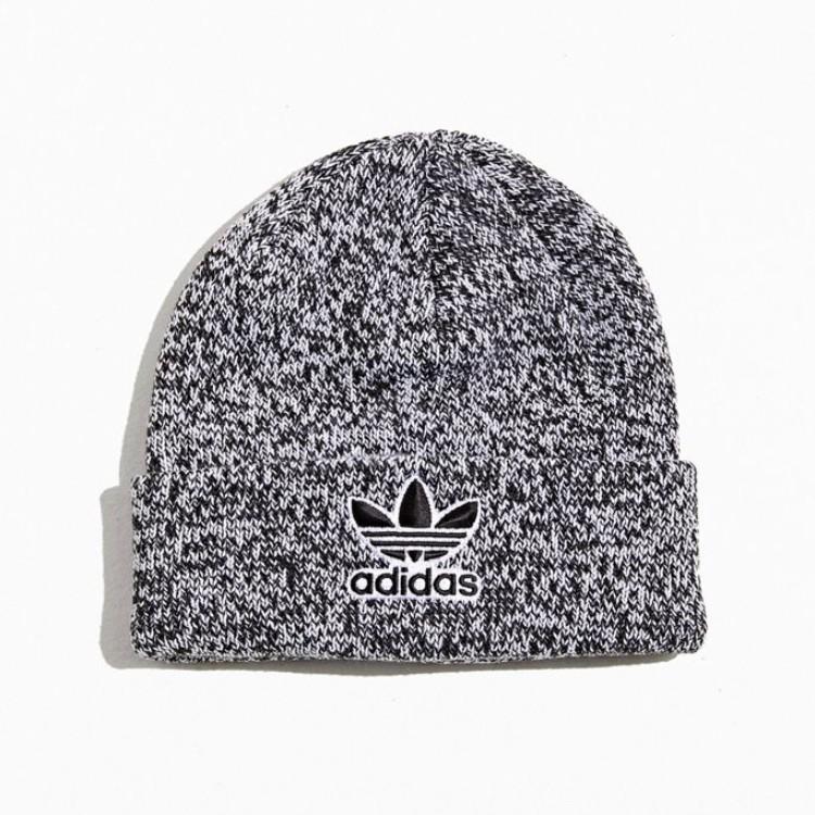 Adidas Originals 阿迪达斯三叶草 Trefoil Logo 毛线帽
