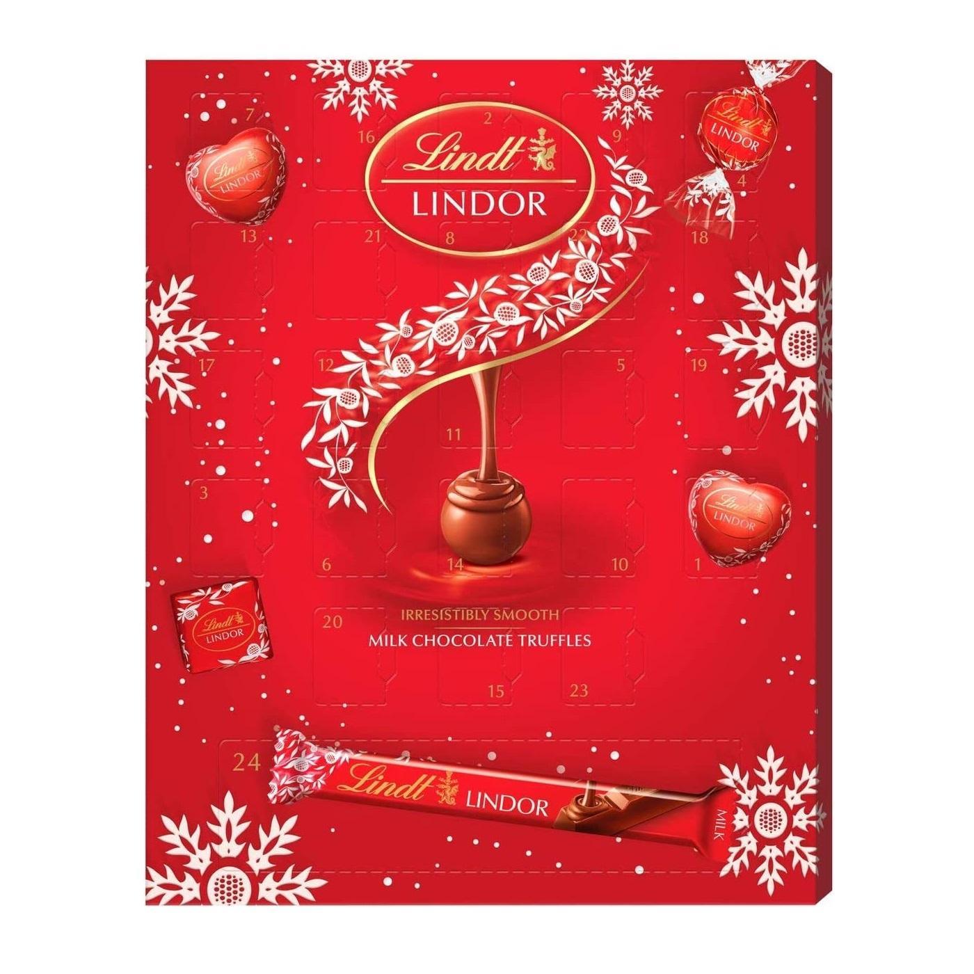 3件9折!Lindt 瑞士莲 圣诞巧克力礼盒套装