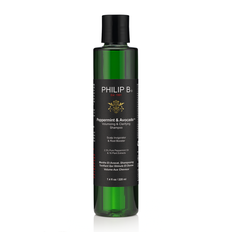 Philip B 薄荷鳄梨丰盈澄净洗发水 220ml