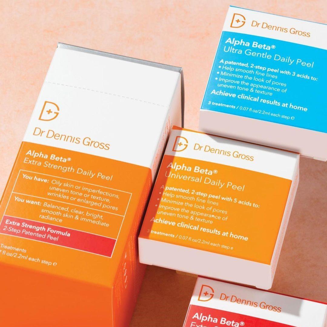 SkincareRx: Dr Dennis Gross  果酸棉片等祛痘护肤