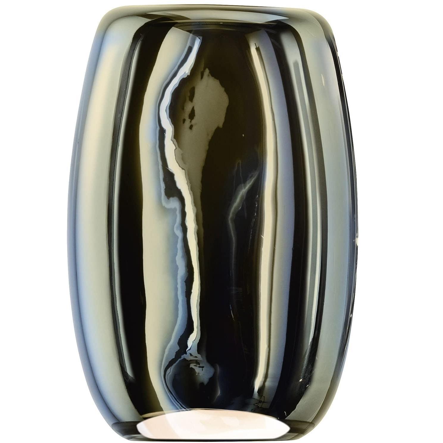 LSA International  ES01 Eclipse花瓶 H23.5cm 水银色