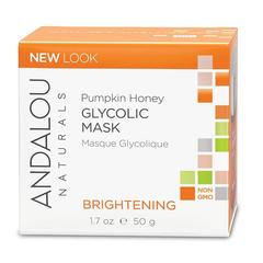 【INS爆款】Andalou Naturals 南瓜蜂蜜果酸亮白面膜 50g 去角质提亮肤色