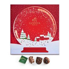 圣诞节倒计时奢华巧克力礼盒
