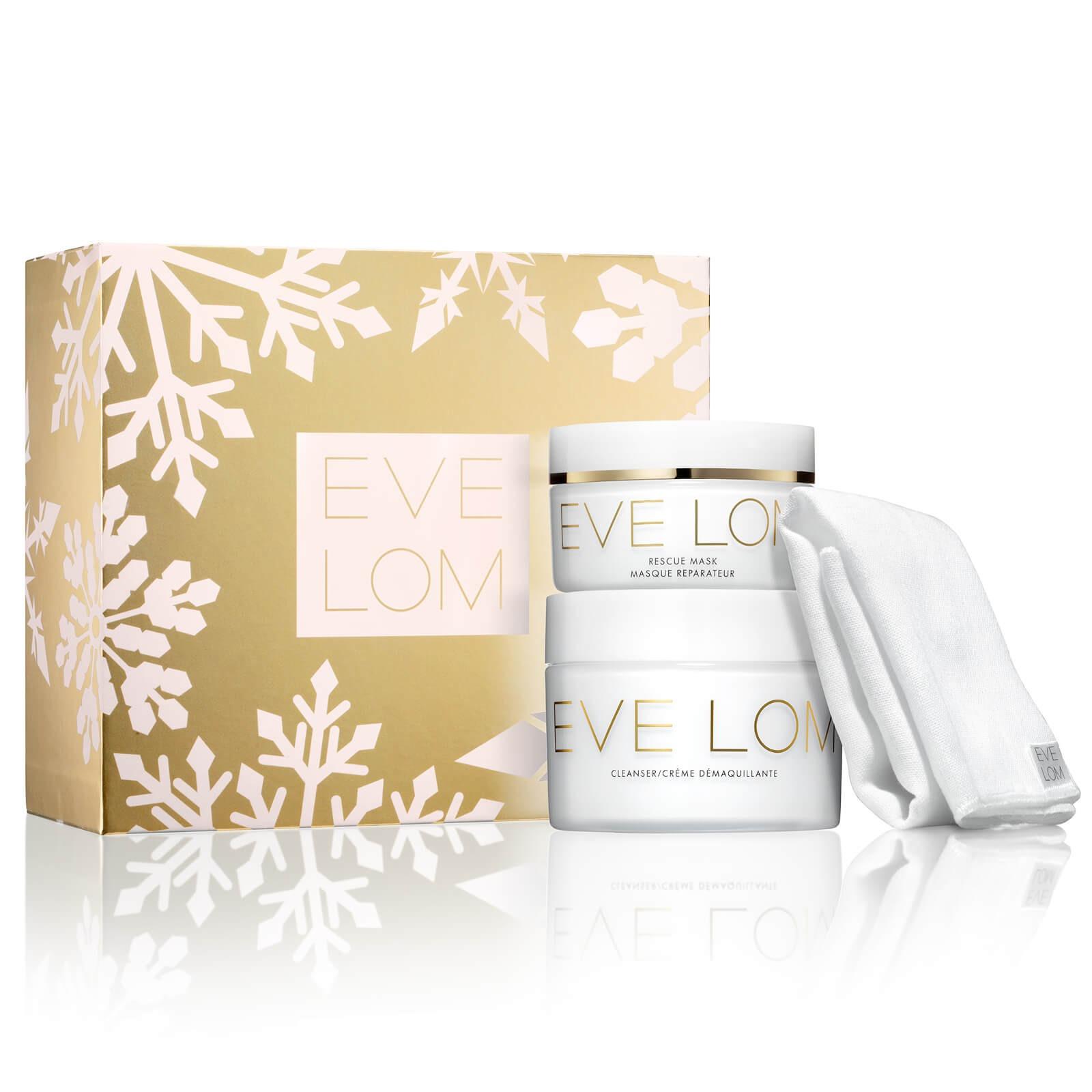 Eve Lom 卸妆膏 200ml+急救面膜100ml+洁面巾套组 价值$232