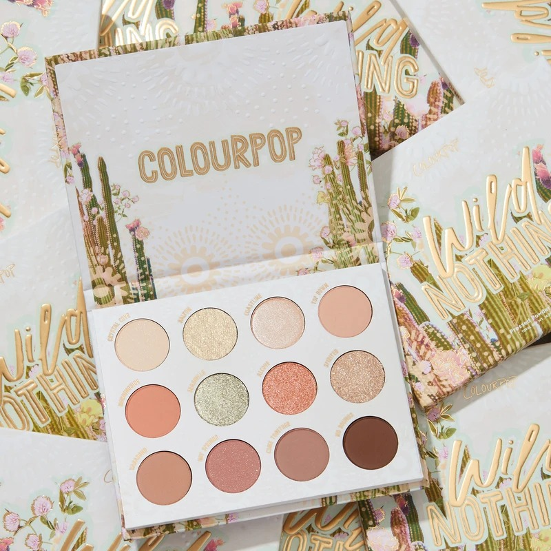 ColourPop Wild Nothing 眼影盘