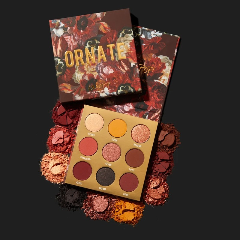 ColourPop Ornate 眼影盘
