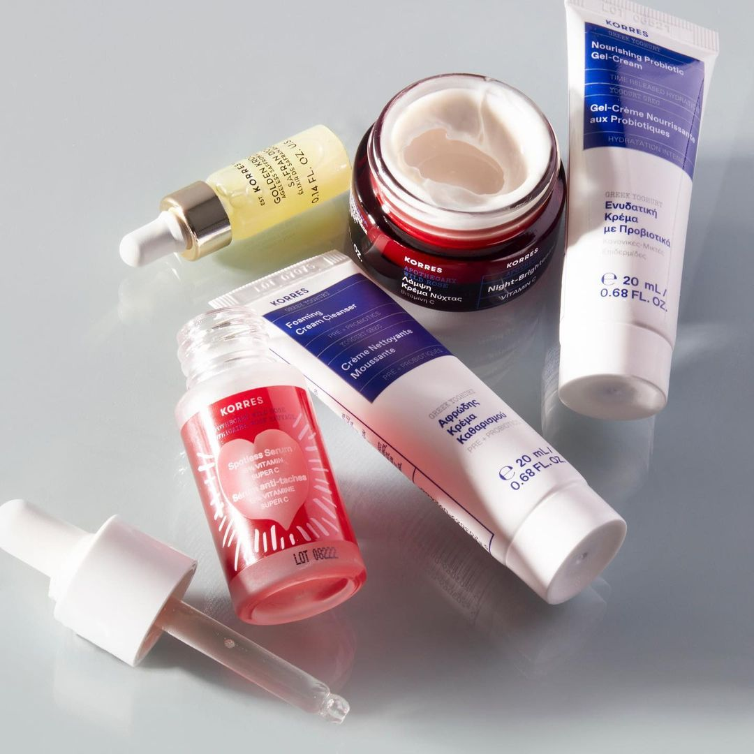 LF英国站:Korres 希腊国宝级护肤 收酸奶面膜 玫瑰精华油