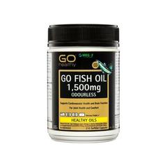 【3件50澳约239元】Go Healthy 高之源 无腥鱼油1500mg口服胶囊 210粒