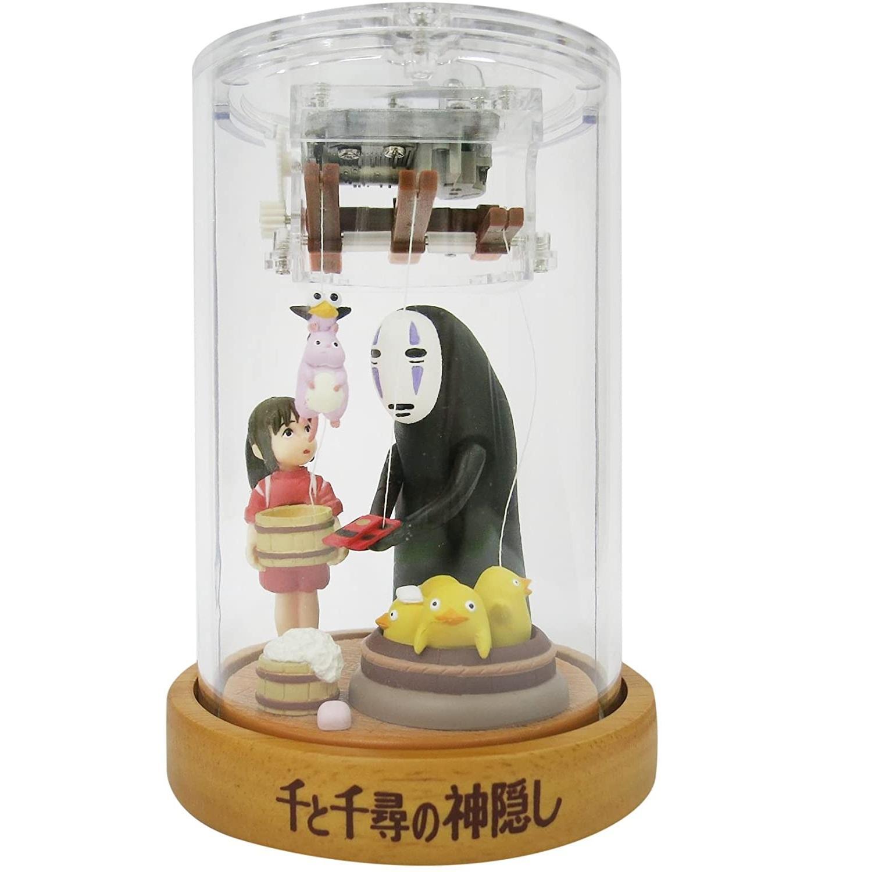 秒杀!Sekiguchi 吉卜力工作室 千与千寻的神隐 人偶八音盒 高约13.5厘米