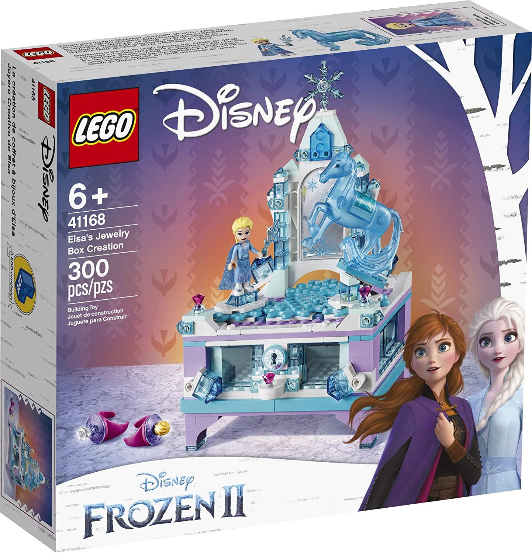 LEGO 乐高 迪士尼冰雪奇缘 II Elsa 珠宝盒