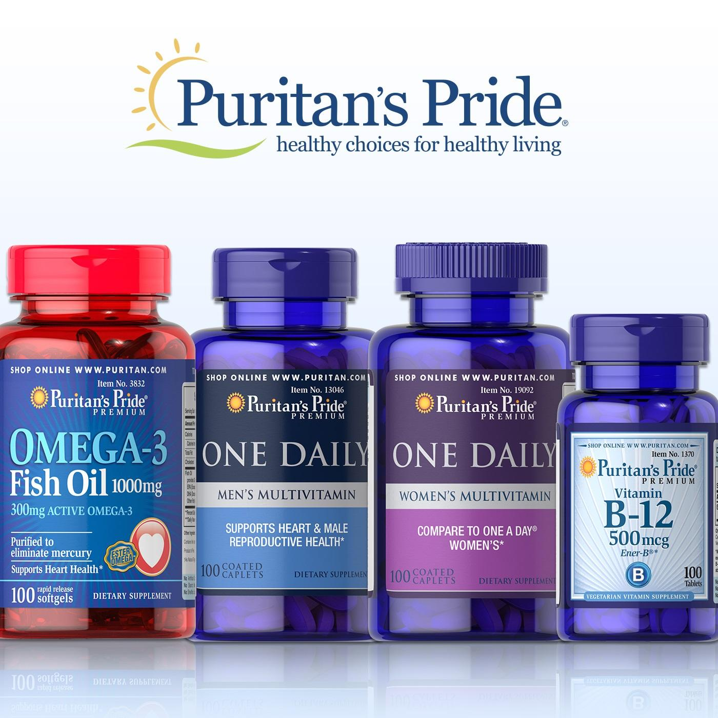 Puritan's Pride 普丽普莱:全场自营保健营养品