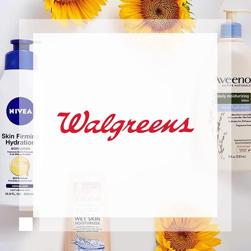 Walgreens:美妆个护、健康产品等