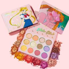 高返18%!【5.5折】ColourPop X Sailor Moon 水冰月合作 美少女联名眼影盘 Pretty Guardian