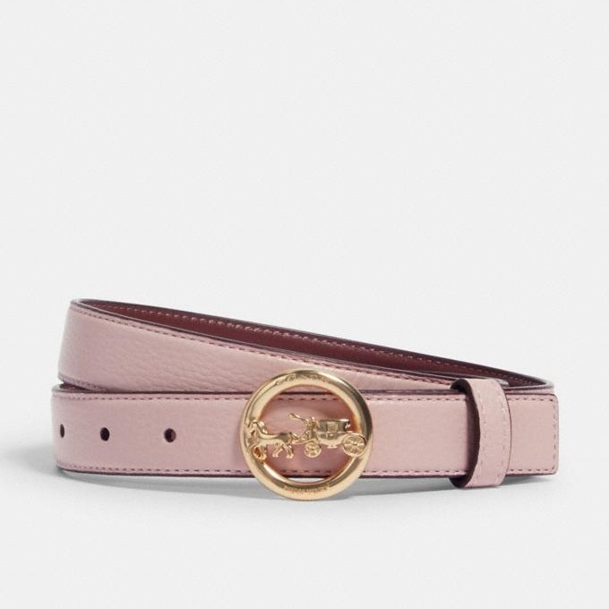 Coach Horse And Carriage Buckle Belt, 25mm