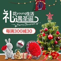 京东:花Young生活 礼遇圣诞