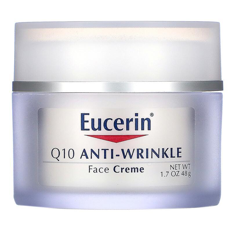 【8折】Eucerin 优色林 Q10 抗皱面霜 1.7 盎司(48 克)