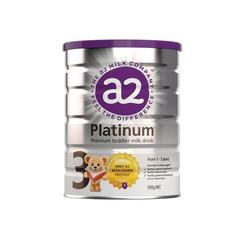 a2 白金系列婴幼儿配方奶粉 (3段)1-3岁 900g