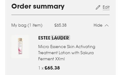补货!Estee Lauder 雅诗兰黛樱花微精华原生液 200ml £65.38(约589元) - 海淘优惠海淘折扣 55海淘网