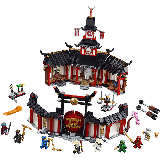 LEGO Ninjago 乐高忍者: Monastery of Spinjitzu (70670)