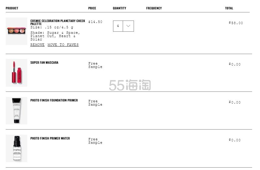 Smashbox 美国官网: 全场彩妆 满立享8.5折 +满送3件好礼 - 海淘优惠海淘折扣|55海淘网