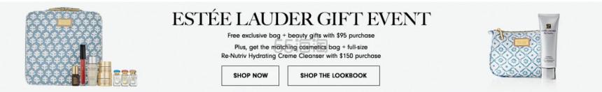 Neiman Marcus:Estee Lauder 雅诗兰黛 小棕瓶精华等 满送护肤香氛礼包+满0再送白金洁面 - 海淘优惠海淘折扣|55海淘网