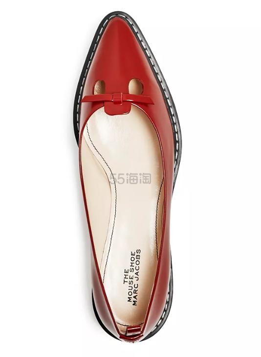 鼠年行大运!THE MARC JACOBS 小马哥 The Mouse Shoe 老鼠造型平底鞋 6.5(约931元) - 海淘优惠海淘折扣 55海淘网