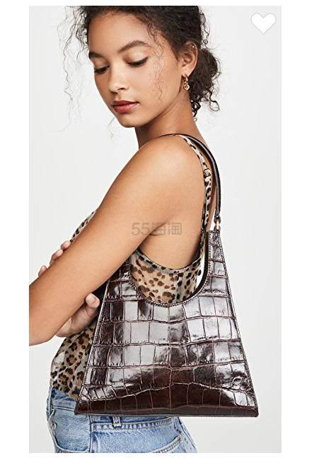 STAUD Rey 鳄鱼皮纹理手袋 5(约2,214元) - 海淘优惠海淘折扣 55海淘网