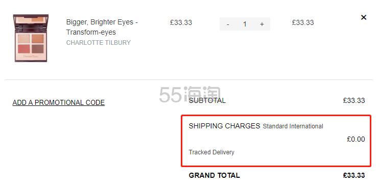 【限时1件免费直邮】Charlotte Tilbury CT 四色眼影盘 Transformeyes £33.33(约297元) - 海淘优惠海淘折扣 55海淘网