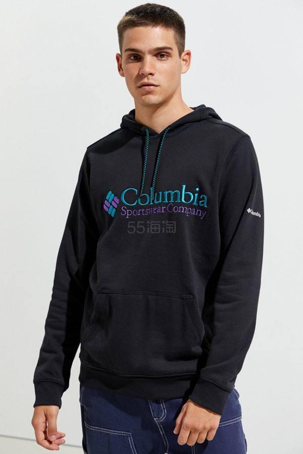 Columbia 哥伦比亚 South Lake Hoodie黑色连帽卫衣 .99(约190元) - 海淘优惠海淘折扣|55海淘网
