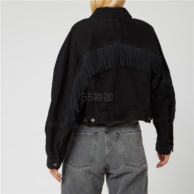 Levis 李维斯 流苏装饰女士牛仔外套夹克 ¥283.8 - 海淘优惠海淘折扣|55海淘网