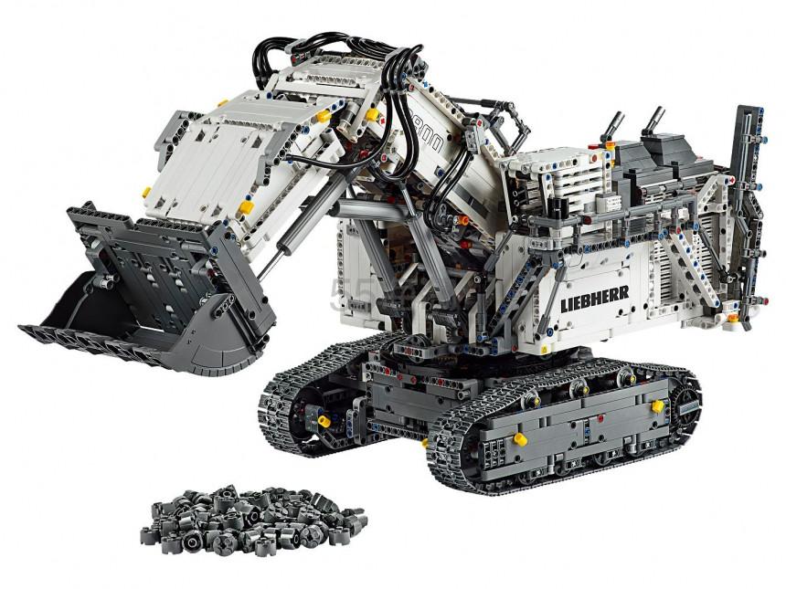 LEGO 乐高 科技系列 利勃海尔R9800遥控挖掘机 (42100) £319.99(约2,856元) - 海淘优惠海淘折扣|55海淘网